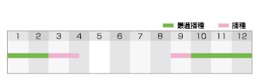 T2スリム 作型表
